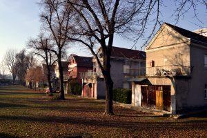 Severni deo naselja, pogled sa prilaznog puta (foto: Nikola Bojanić)
